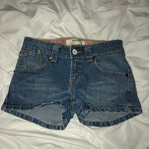 Levi's 504 Slouch Jean Shorts